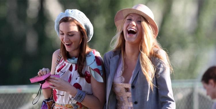 Serena et Blair dans Gossip Girl