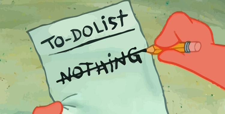 Liste des choses à faire