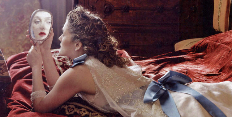 Drew Barrymore photographiée par Annie Leibovitz