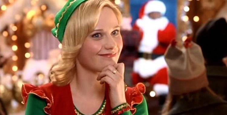 Zooey Deschanel déguisée en lutin dans Elf