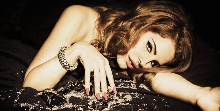 Lana Del Rey et ses diamants par Ellen Von Unwerth