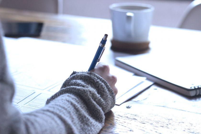 Ecrire une lettre manuscrite en 2016