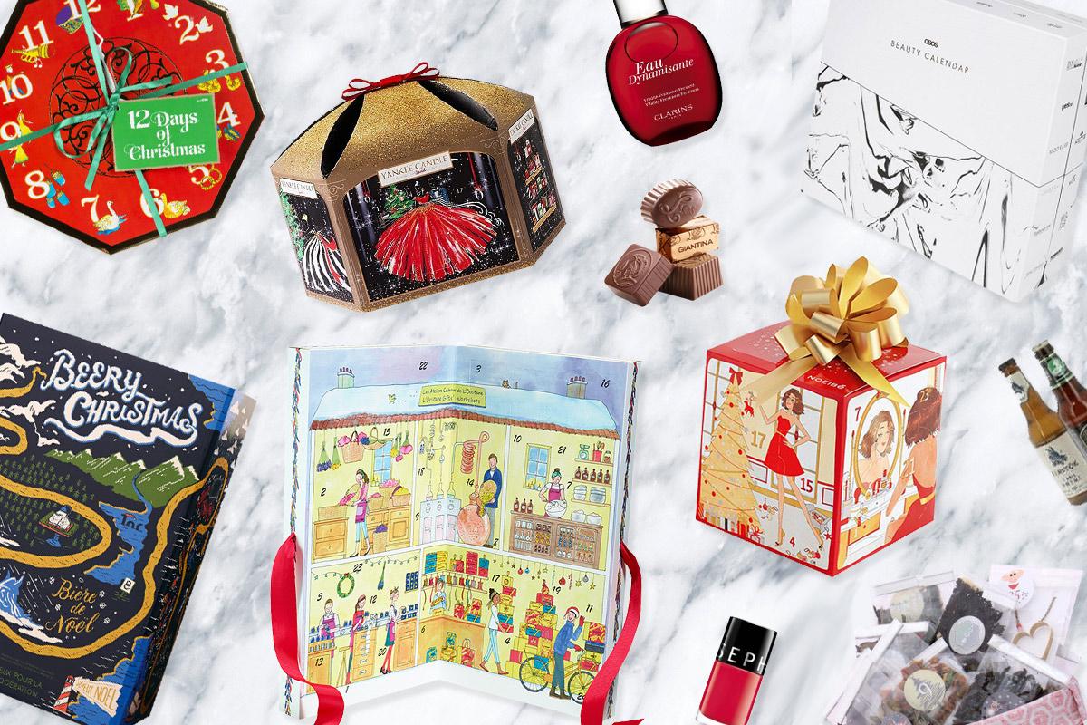 Les meilleurs calendriers de l'avent pour adultes de Noël 2016