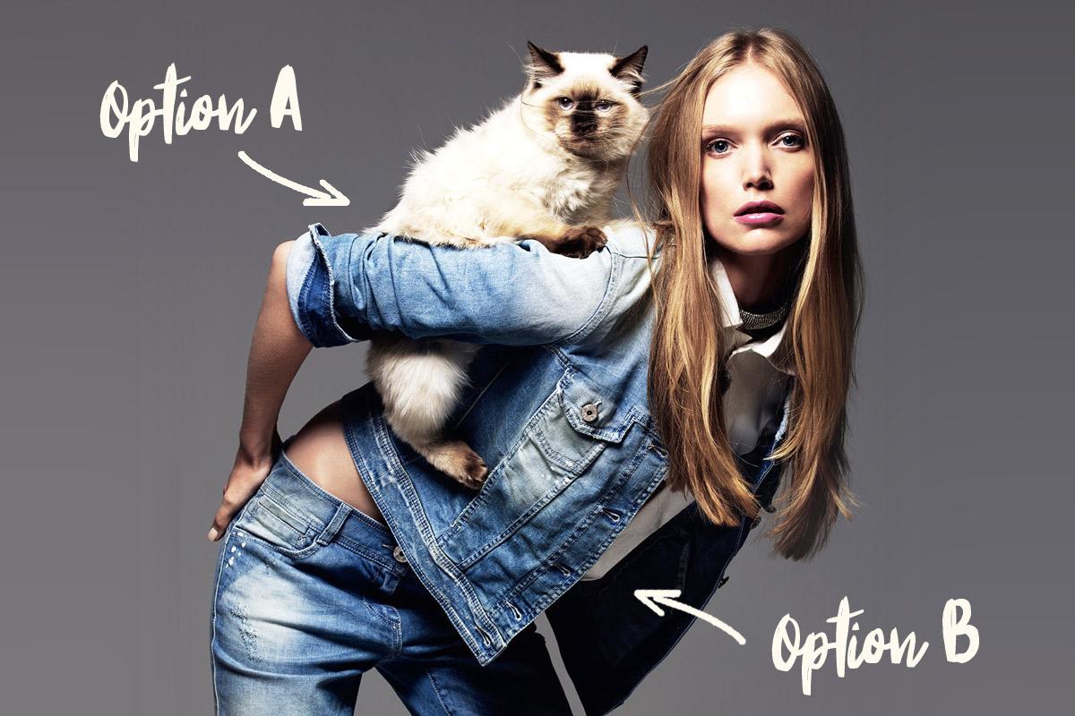 La question que se posent tous les couples : vaut-il mieux faire un bébé ou adopter un chat ?