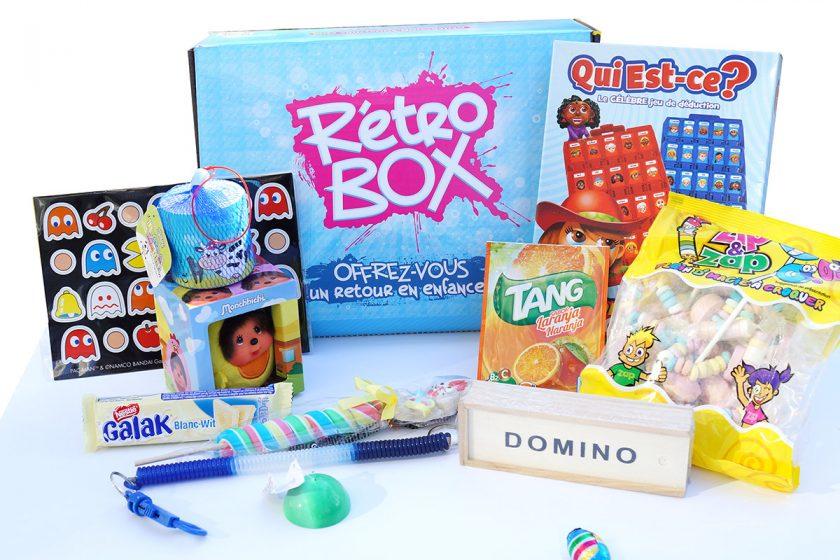 Rétro box : la box des nostalgiques des années 80-90