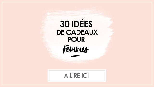 30 idées de cadeaux pour femmes de 30 ans
