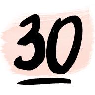 Logo du blog 30 ans (ou presque)