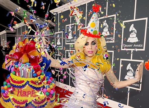 L'anniversaire de Lady Gaga