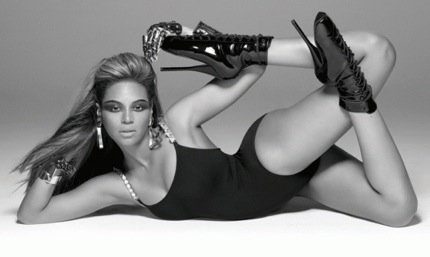 Beyoncé en tenue de Single Ladies