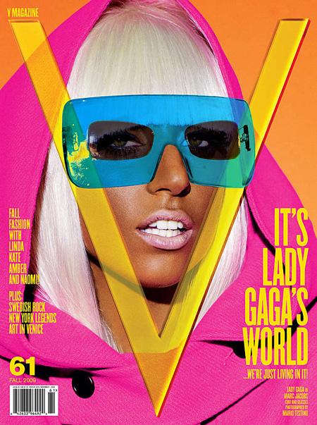 Lady Gaga en couverture de V Magazine