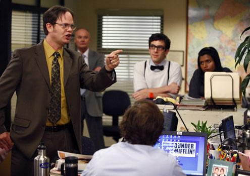 Rainn Wilson aka Dwight Shrute dans The Office
