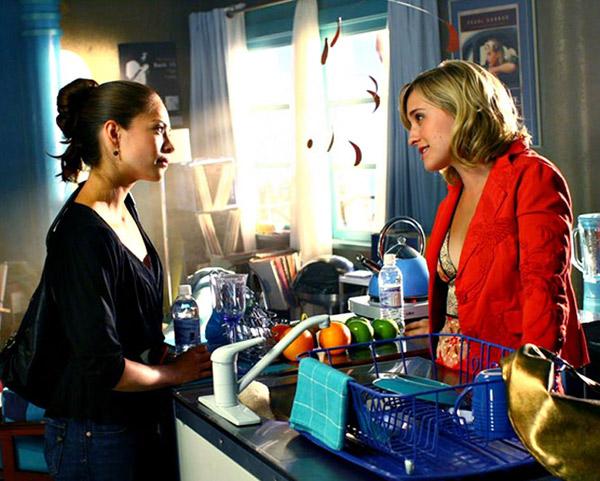 Lana et Chloe dans Smallville