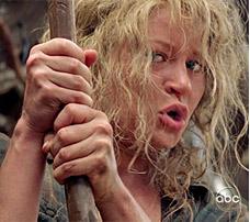 Claire dans Lost