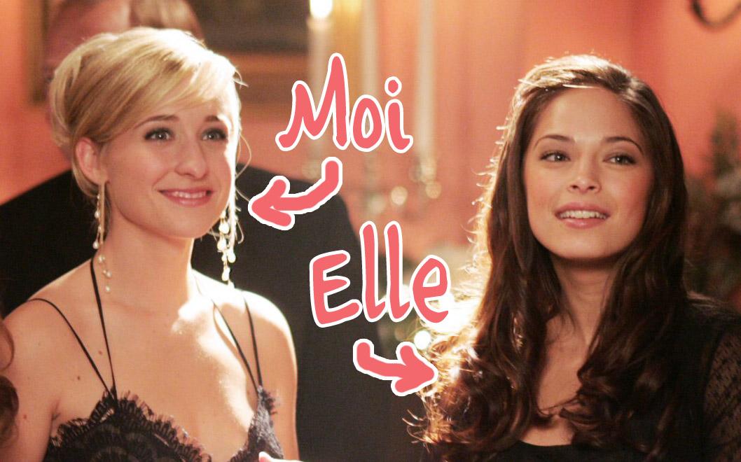 Chloe et Lana dans Smallville