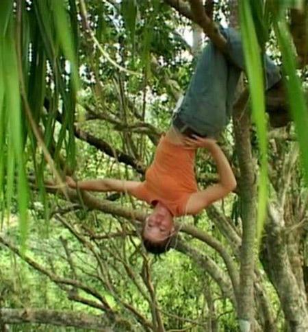 Kate dans la jungle de Lost