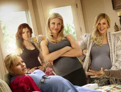 Des trentenaires enceintes sur l'affiche de What to expect when you're expecting