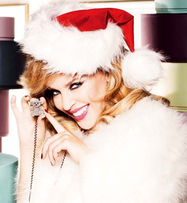 Kylie Minogue en mère Noël