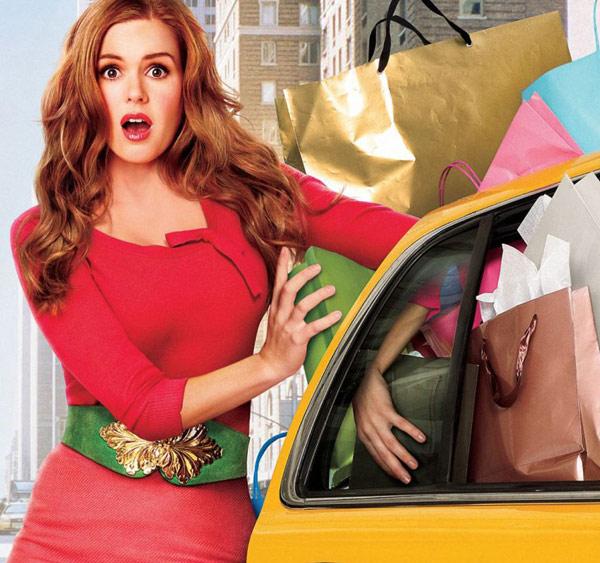 Isla Fisher dans le film Confessions d'une accro du shopping