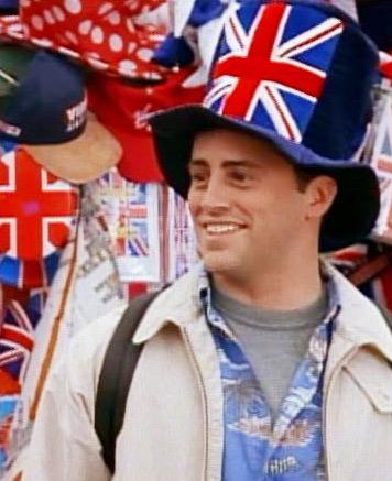 Joey It's London baby