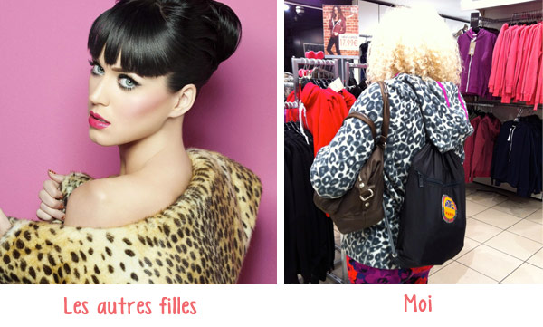 Katy Perry en imprimé léopard