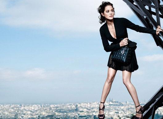 Pub pour Dior avec Marion Cotillard
