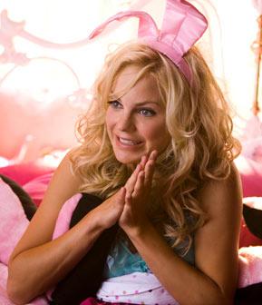 Anna Faris déguisée en lapin rose dans House bunny