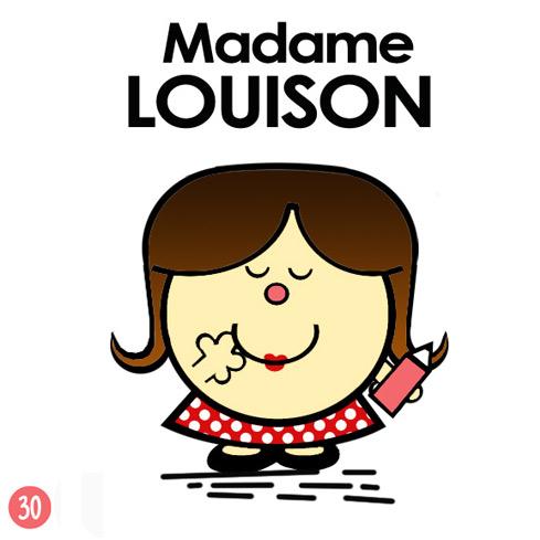 Madame Louison d'après Roger Hargreaves