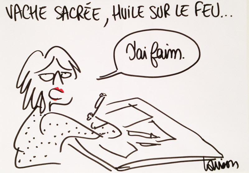 Louison, dessinatrice de presse