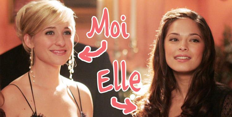 Lana et Chloé dans Smallville : amies pour la vie