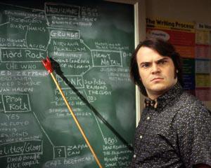 Jack Black dans School of rock