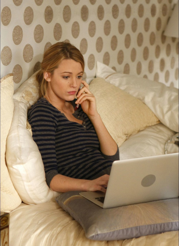 Serena Van Der Woodsen blogue dans Gossip Girl