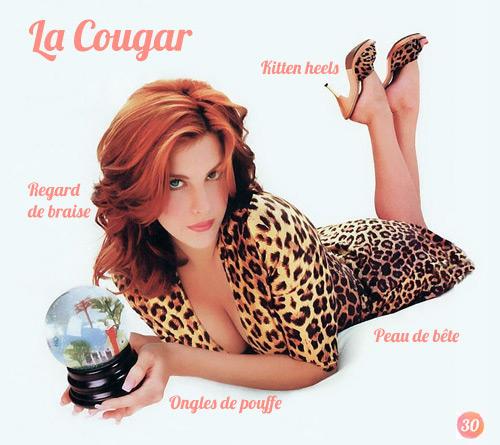 La cougar est une prédatrice et une séductrice redoutable