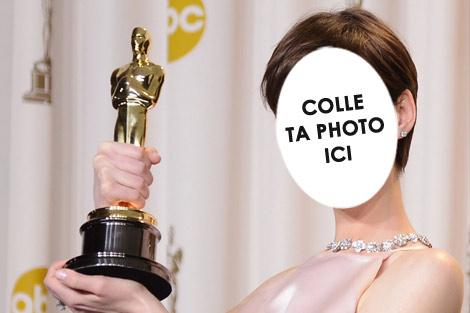 Anne Hathaway a gagné un oscar à 30 ans