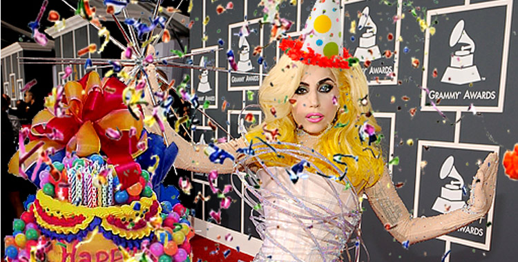 Lady Gaga fête son anniversaire