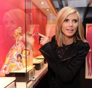 Heidi Klum veut une poupée Barbie