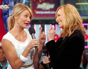Toni Collette et Cameron Diaz se disputent