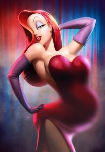 Jessica Rabbit enceinte
