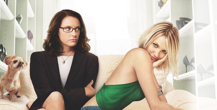Cameron Diaz et Toni Collette dans le film In her Shoes