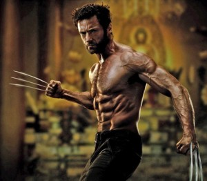 Hugh Jackman est sexy en Wolverine