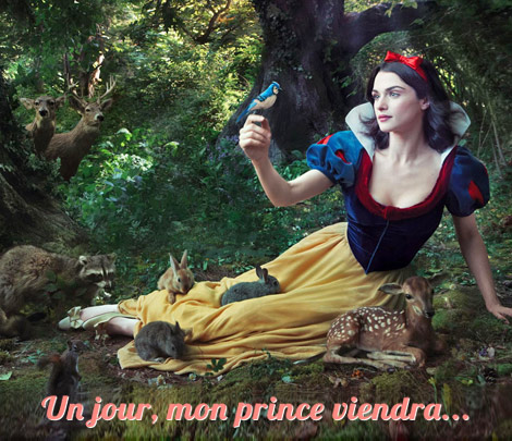 Blanche neige attend son prince charmant