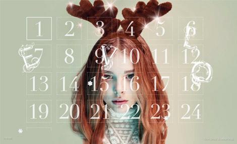 Un calendrier de l'avent pour fille de 30 ans