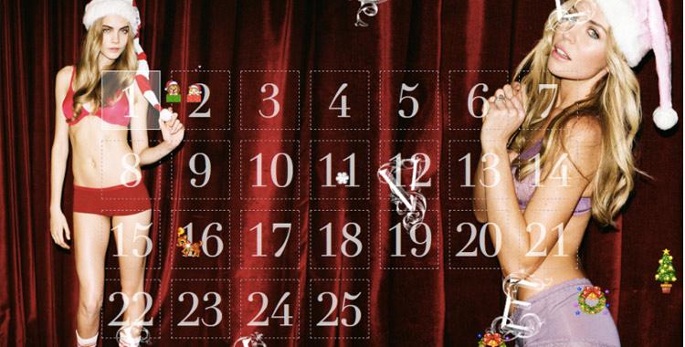 Un calendrier de l'avent pour les grandes filles
