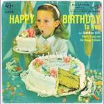 Vinyl Happy birthday