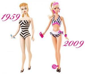 Barbie ne vieillit pas