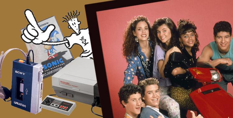 Souvenirs des années 1990