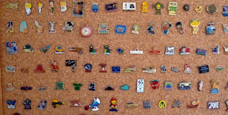 Pin's pin's pin's !