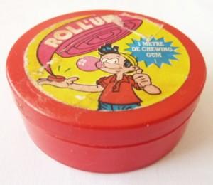 Roll up : le chewing gum au mètre