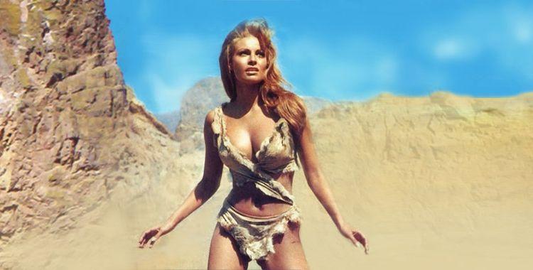 Raquel Welch en femme préhistorique sexy