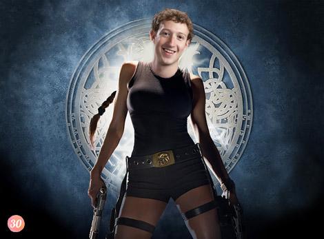 Le fils caché de Lara Croft et Marc Zuckerberg