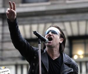 Bono en concert